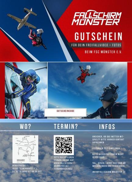 Gutschein Foto/Video-Begleitung